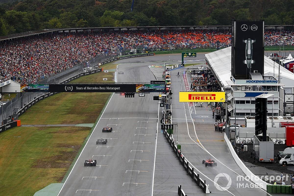 La F1 considera circuitos que no están en el calendario