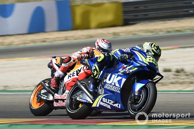 Con il podio di Iannone ad Aragon la Suzuki ha perso le concessioni per il 2019