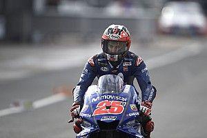 MotoGP Inggris: Vinales puncaki warm-up, Rossi ke-10