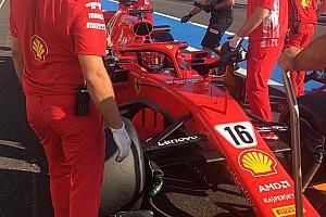 Test Pirelli: Leclerc ha completato quasi due GP e mezzo sulla Ferrari al Ricard