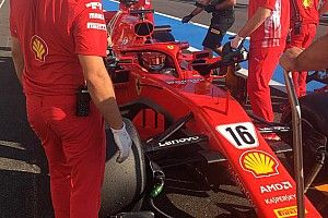 Leclerc ya ejerce de piloto de Ferrari