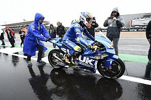 Rain forces MotoGP to cancel Silverstone race