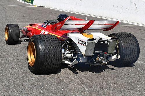 GALERÍA: Jacky Ickx en su Ferrari 312B por Spa
