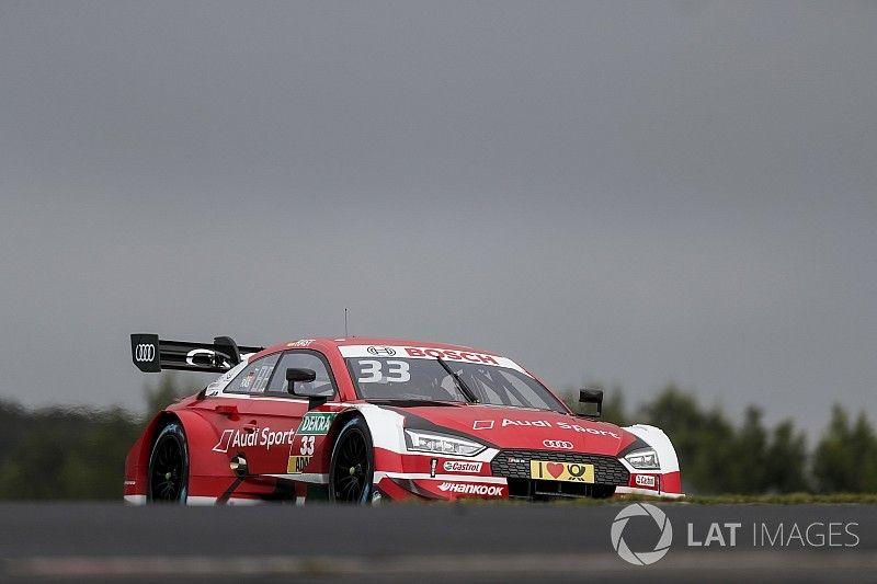 DTM Nürburgring: Rast snelste in tweede training, Frijns voorlaatste