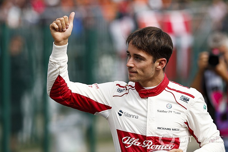 Ferrari confirms Leclerc for 2019 F1 season