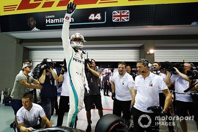 """Hamilton: """"E' stato un giro praticamente perfetto, non penso che avrei potuto fare di meglio"""""""
