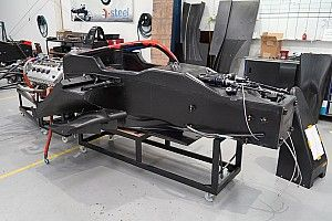 First S5000 chassis arrives in Australia
