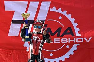 П'ятирічний киянин виграв перші мотоперегони