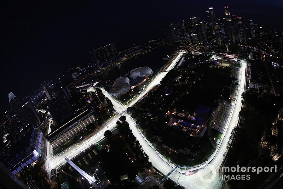 Formel 1 Singapur 2018: Das 1. Training im Formel-1-Liveticker
