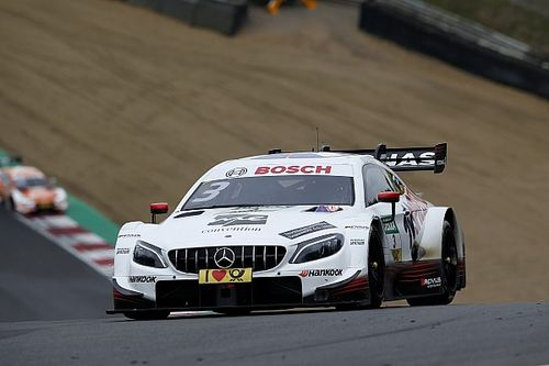 Brands Hatch DTM: Di Resta resists Paffett for victory