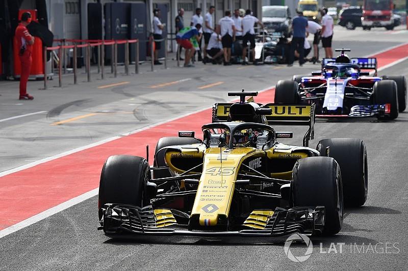 Ergebnis: Formel-1-Test Budapest, Tag 2