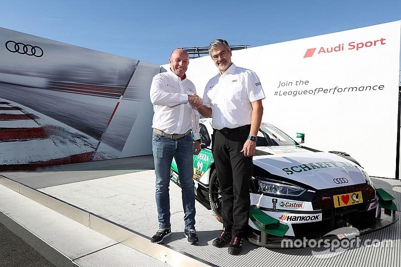 La WRT diventa il primo team clienti dell'Audi nella nuova era del DTM