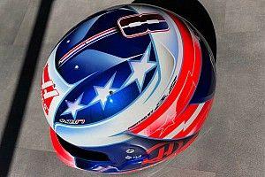 Grosjean svela i nuovi colori del casco per il GP USA, la gara di casa del team Haas