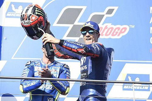 """Viñales: """"J'espère que Yamaha me donnera la moto"""" pour jouer le titre"""