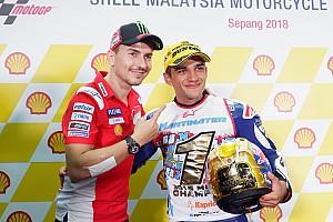 Martín se proclama campeón del mundo de Moto3 en Sepang