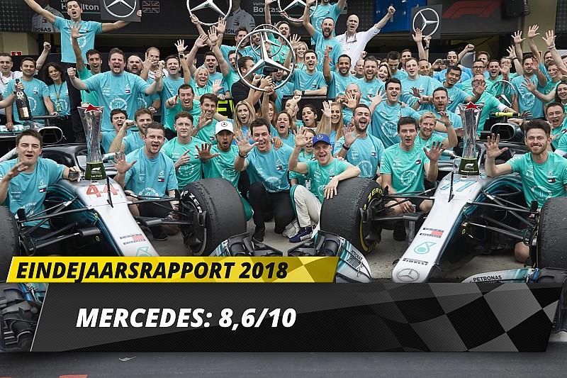 Eindrapport Mercedes: Flink uitgedaagd, maar weer de beste