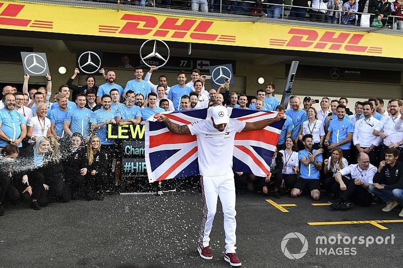 Fotogallery F1: le immagini più belle dei cinque titoli di Lewis Hamilton