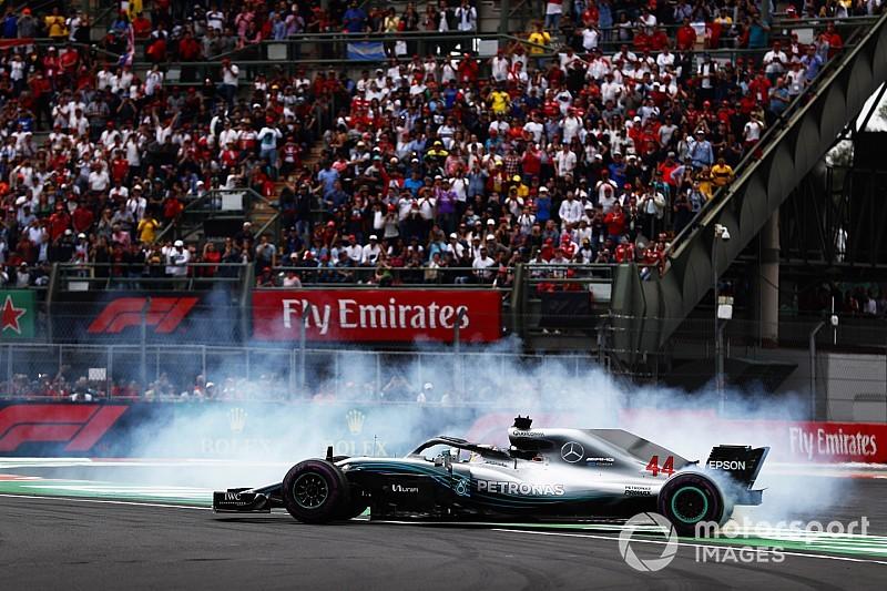 GP Meksiko: Hamilton lima kali juara dunia, Verstappen menang