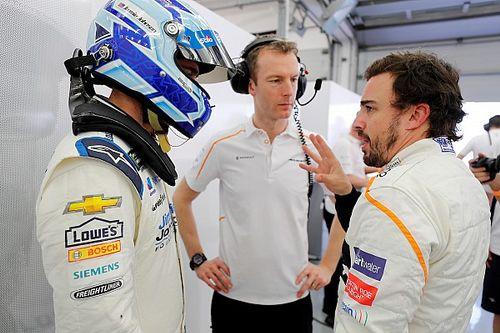 "Alonso: ""Jimmie Johnson F1-es tempója lenyűgöző"""