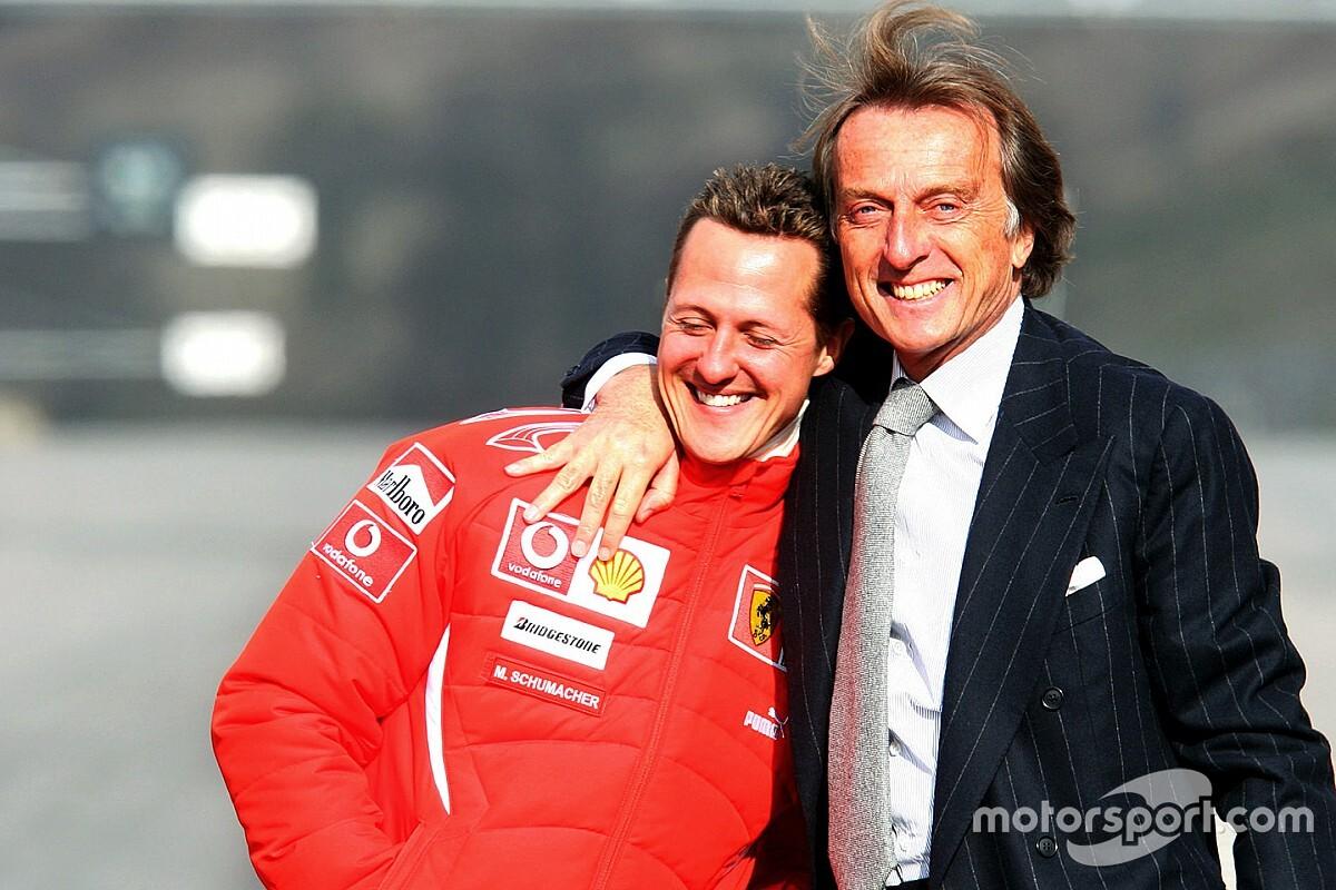 Les confidences de Di Montezemolo sur Schumacher