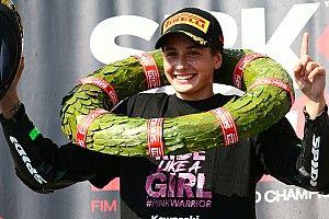 Weltmeisterin Ana Carrasco: Könnte auch in der Moto3 gewinnen, wenn ...