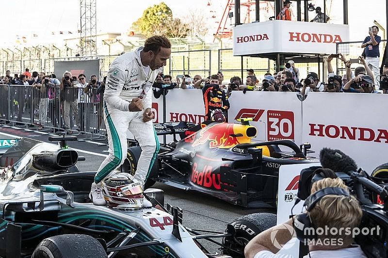 Hamilton mit Rückenwind im Suzuka-Himmel: