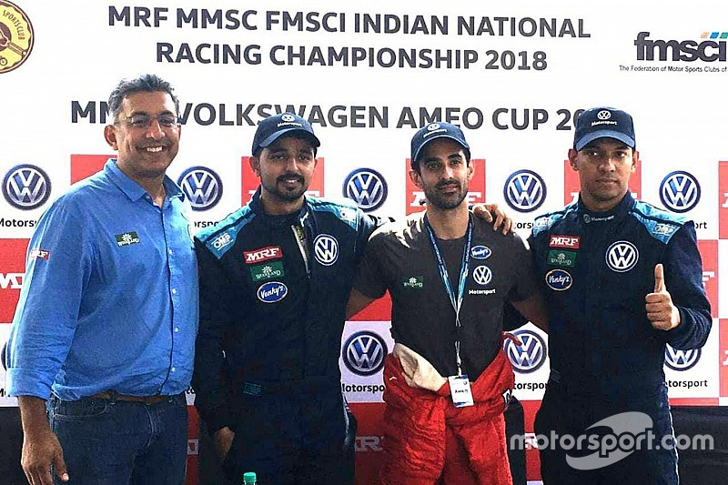 Buddh Ameo: Guest racer Behl wins chaotic race, Mohite only 11th
