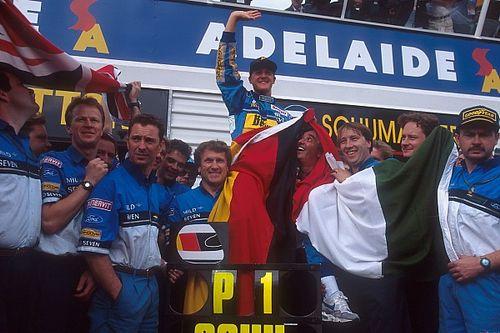 Ma 25 éve, hogy Schumacher először bajnok lett az F1-ben, kissé drámai módon