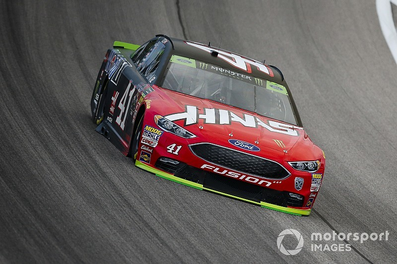 Kurt Busch tops final Cup practice at Kansas