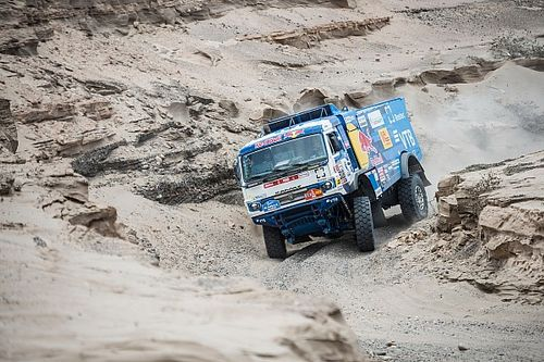 Dakar, camiones, etapa 4: Karginov repite tras un gran final
