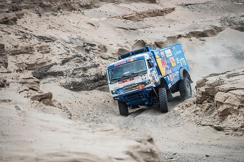 Dakar, Camion, Tappa 4: Karginov si ripete dopo un clamoroso rush finale