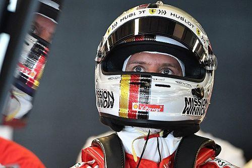 Vettel se decepciona com segunda fila, mas mantém otimismo