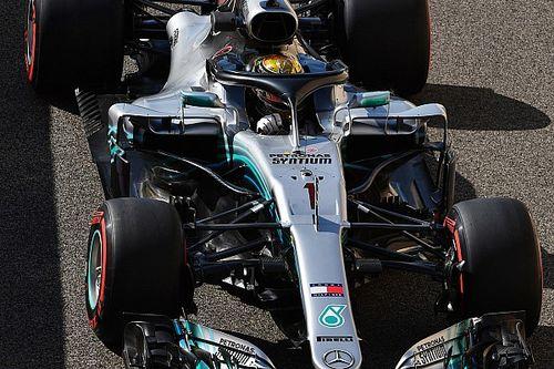Mercedes adjusts Hamilton's engine after problem