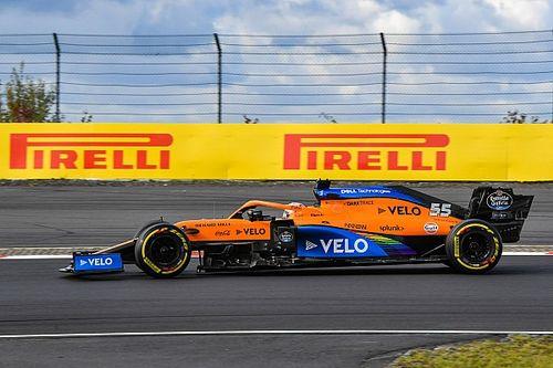 Sainz: Kans op podium misgelopen door nieuwe aeropakket