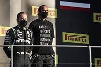 La FIA endurece el protocolo del podio por la camiseta de Hamilton