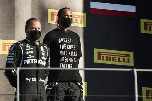 La FIA étudie le cas du T-shirt antiraciste de Hamilton