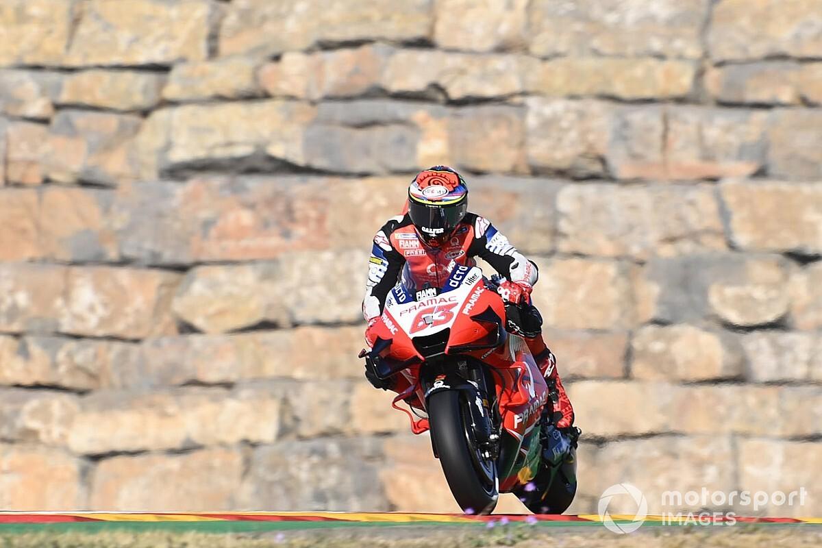 Aragon, nuovo programma: la MotoGP correrà alle 15