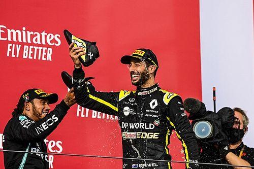 """Ricciardo: """"2020 bello per me. Non mi divertivo così da anni"""""""