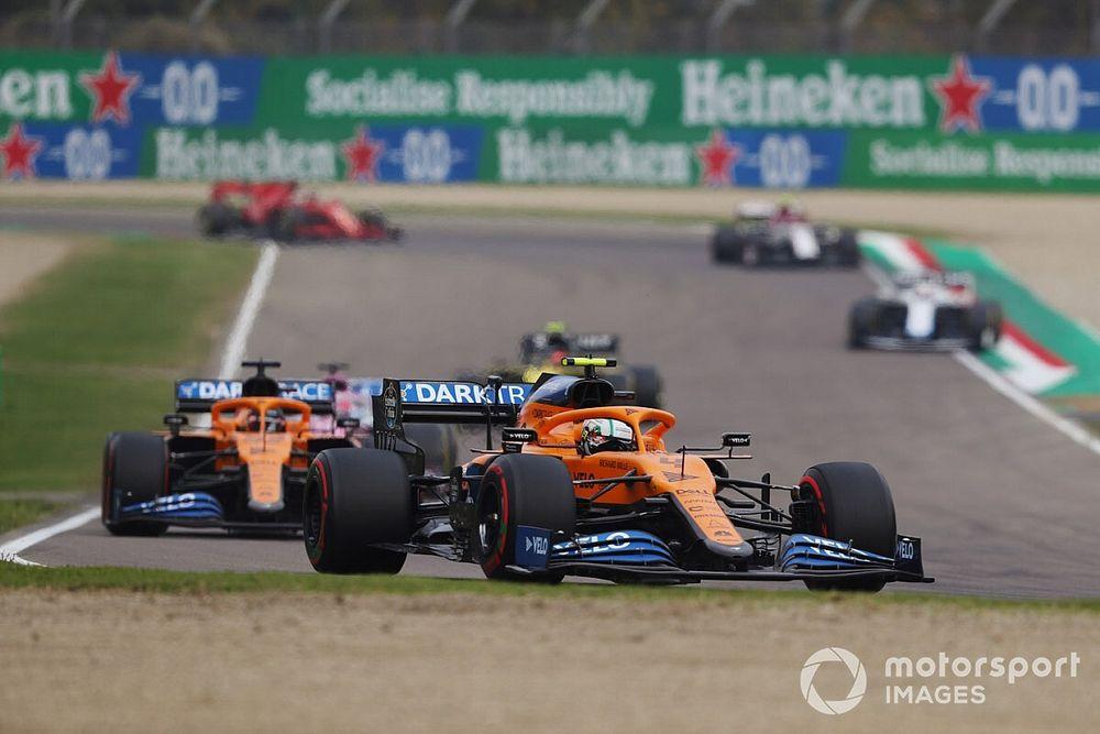 McLaren 'beperkt de schade' met dubbele puntenfinish in Imola