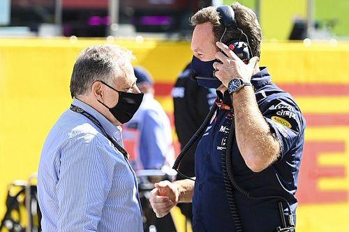 """Gel des moteurs exigé par Red Bull: la FIA ne cèdera pas au """"chantage"""""""
