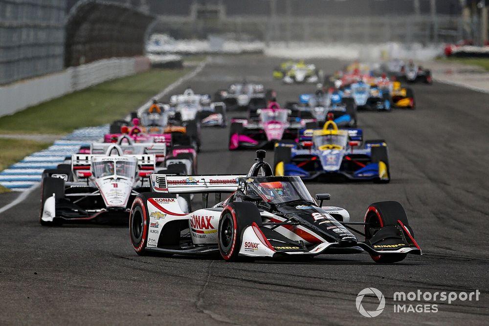 Van Kalmthout in zijn nopjes met eerste podium in de IndyCar