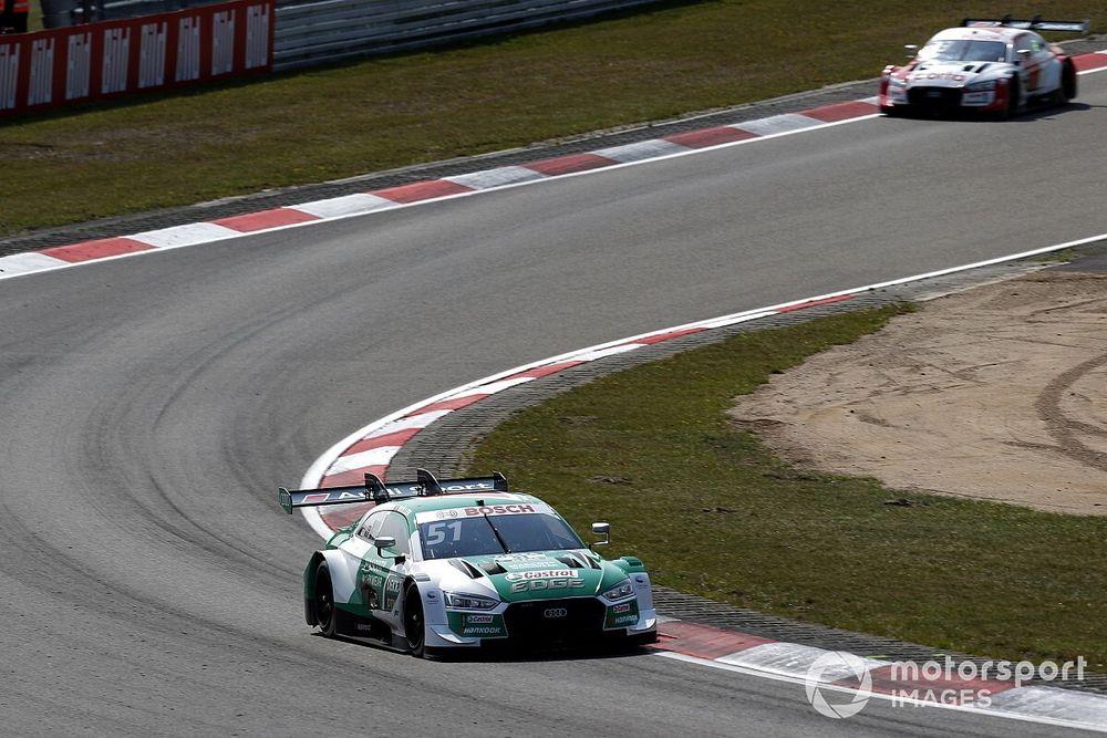 Müller domineert DTM-race Nürburgring, Frijns P5 na duel met Rast