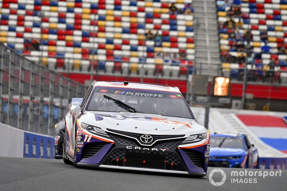 Denny Hamlin looks to Kansas to 'lock in' Cup title chances
