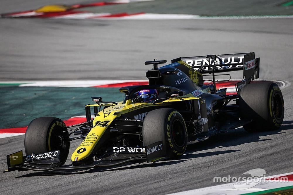 F1: Renault se diz frustrada com veto de rivais a teste de Alonso