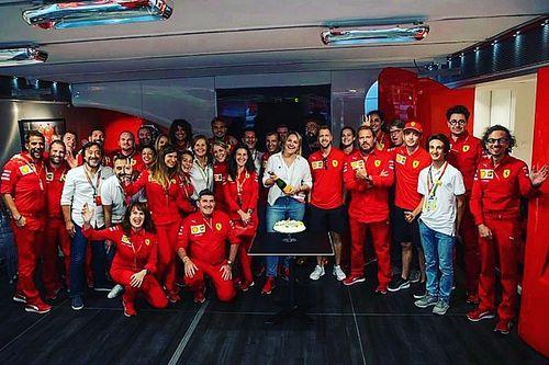 PMI se junta à Scuderia Ferrari para comemorar o 1000º GP na F1