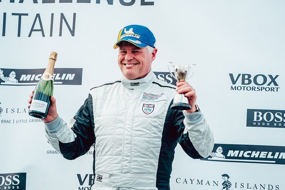 Harvey targets more outings after podium on Porsche one-make return