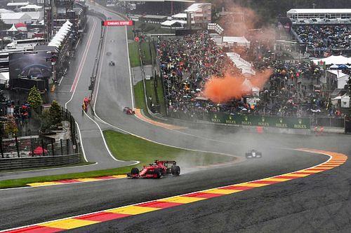 """Ferrari triste pour les """"fans courageux"""" du GP de Belgique"""
