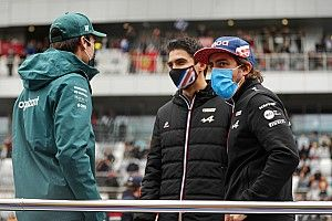 """Alonso: """"Very fast reference"""" Ocon helped readjustment to F1"""