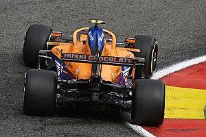 McLaren da el OK al motor con el que Norris se accidentó en Spa