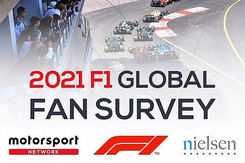 La Fórmula 1 y Motorsport Network revelan los resultados de la mayor encuesta deportiva realizada por Nielsen Sport